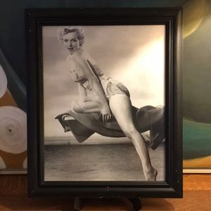 Marilyn Monroe Framed Photograph